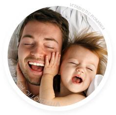 copil mic cu tatal sau