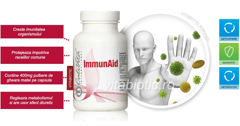 immunaid calivita vitabiotic banner