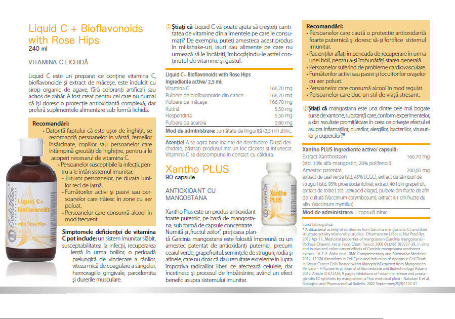 Liquid C + Bioflavonoids and Rose Hips
