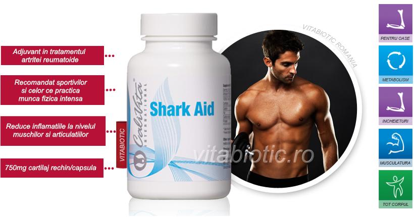 shark aid cartilaj rechin calivita vitabiotic